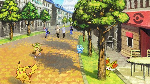Pokémon Legendary - Démos virtuelles