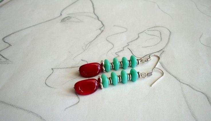 Chandeliers - Ohrhänger Tamina - ein Designerstück von sibea bei DaWanda