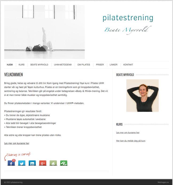 Bring glede, helse og velvære til ditt liv! Kom igang med Pilatestrening! Nye kurs i Pilates UHM starter vår og høst på Tøyen kulturhus. Pilates er en treningsform som gir kroppsbevissthet, sentrering og balanse.