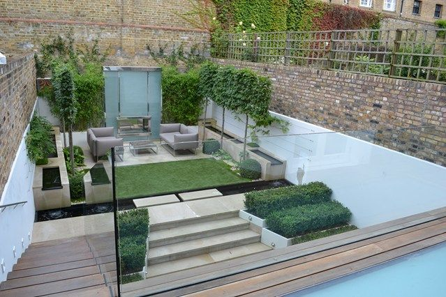 Modern Materials - Small Garden Ideas & Design (houseandgarden.co.uk)