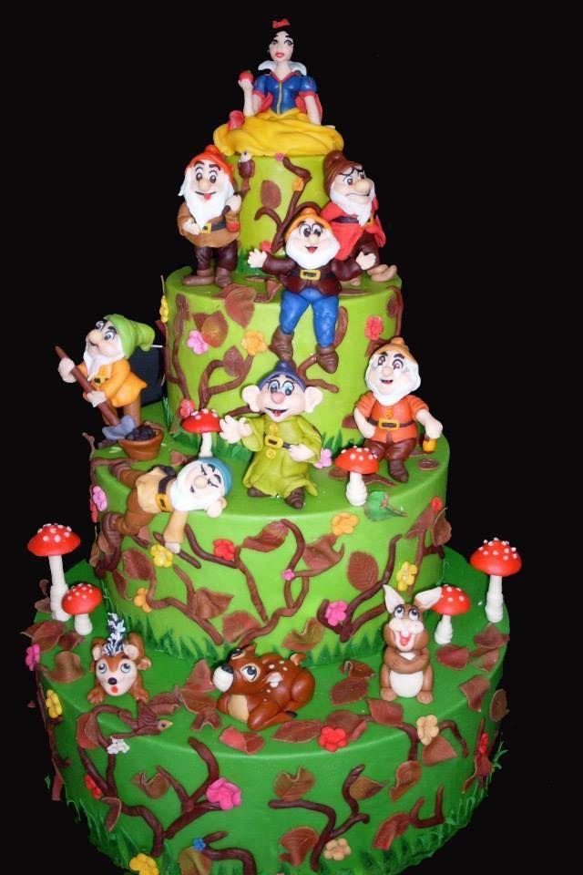 Sette Nani Birthday Cake Arte Green