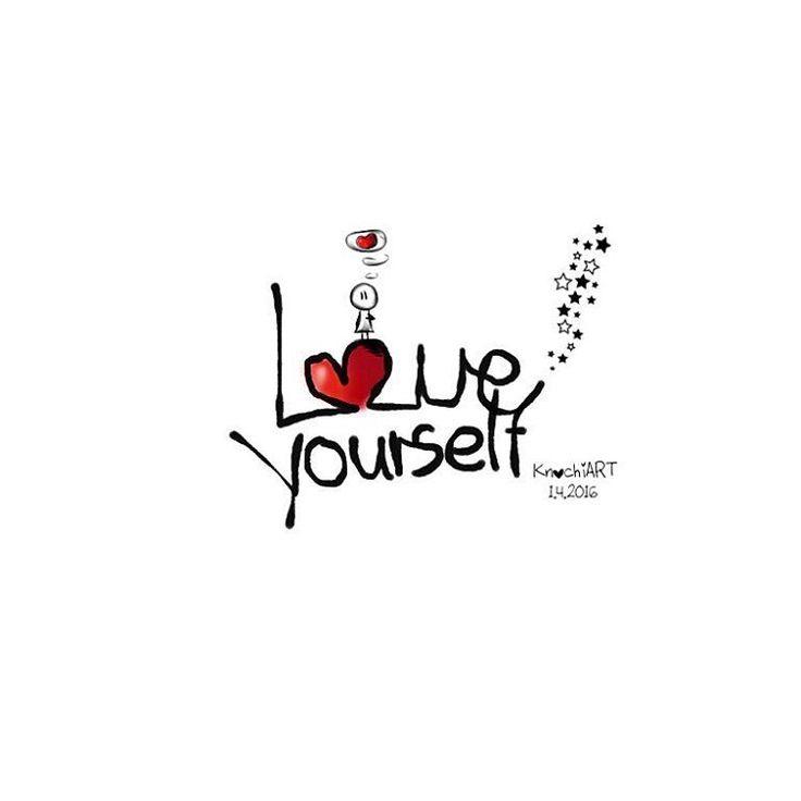 #Love❤️#yourself  Kurz und bündig  In diesem #Sinne wünsche ich euch allen ein tolles #Frühling 's #Wochenende ☀️ Genießt es  und liebt euch selbst ✨ so wie ihr seid  #spruch #sprüche #spruchdestages  #Friday #Instagram #picoftheday (hier:...