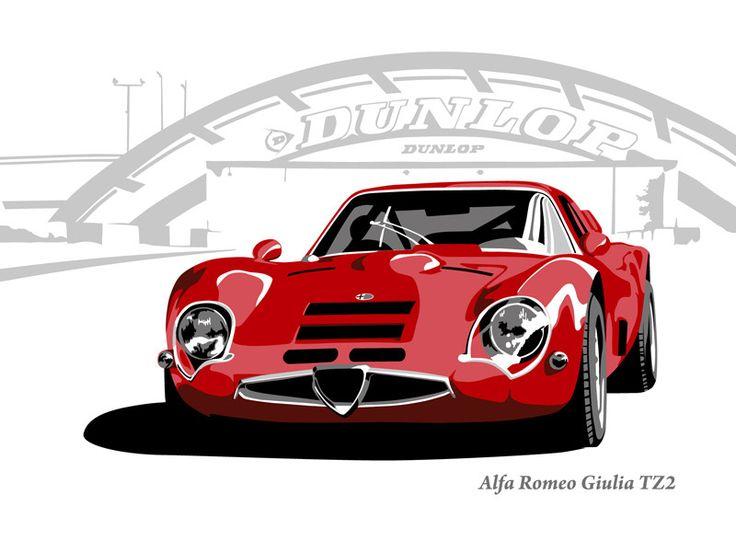 Alfa Romeo Giulia TZ2  Alfa Romeo  Pinterest  Alfa romeo