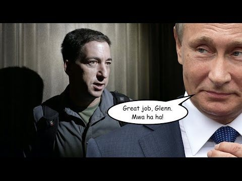 Glenn Greenwald Purportedly a Kremlin Shill For Questioning Russian Hacking Narrative...