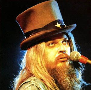 Leon Russell. I met him when he was touring and playing with Willie Nelson in Hawaii.