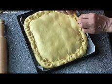 Пирог с капустой, луком, морковью и яйцами Видео рецепт - YouTube