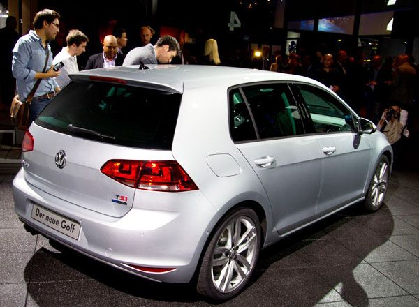 new 2013 volkswagen golf 7 the most popular vw car review rear