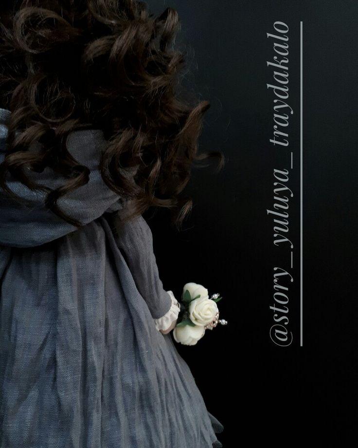 Текстильная кукла. Тильда. Выполнена на заказ в подарок. #тильда