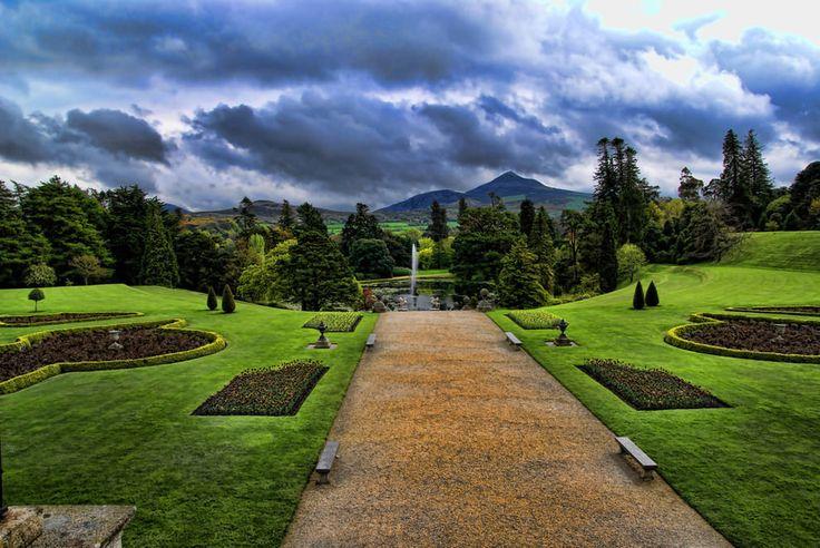 Powerscourt Gardens, Enniskerry, County Wicklow, Ireland  18 Of The World's Most Beautiful Gardens – BoredBug
