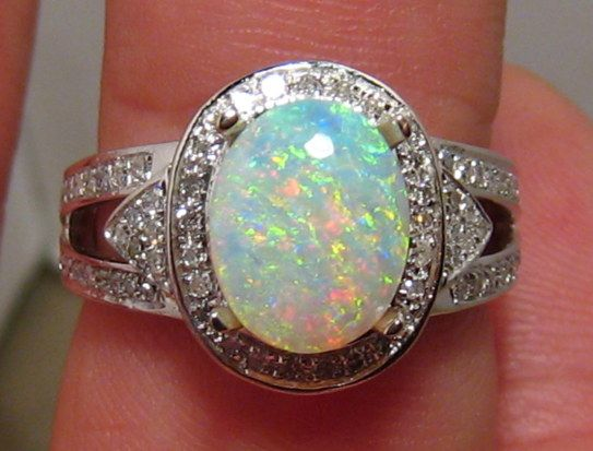 217 best My Birthstone images on Pinterest Opal jewelry Jewelry