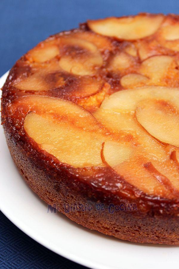 Inspirational Mi Diario de Cocina Tarta volteada de peras http
