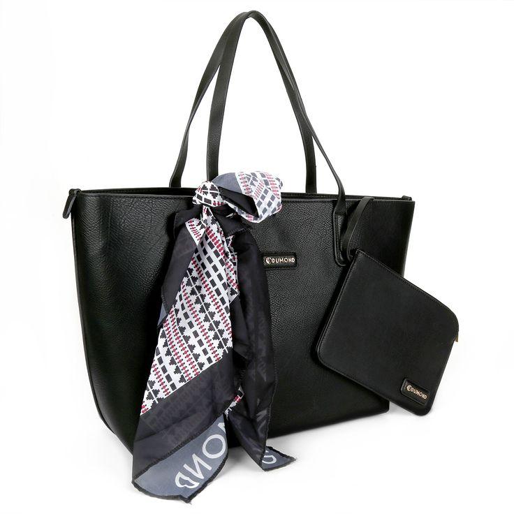 Compre Bolsa Dumond Shopper Detalhe Lenço Preto na Zattini a nova loja de moda online da Netshoes. Encontre Sapatos, Sandálias, Bolsas e Acessórios. Clique e Confira!