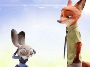 Nick and Judy GIF