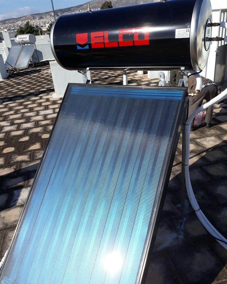 Υδραυλικοι ΥΔΡΕΥΕΙΝ  Ρέντη εγκατάσταση Ηλιακού Θερμοσιφωνα Θερμοσιφωνα ELCO SOL TECH 160 LT 2.4 m2. 24 άτοκες δόσεις. www.υδρευειν.eu/e-shop 2117702013