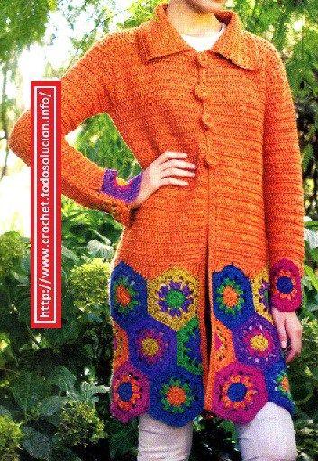 Como tejer un chaleco a crochet