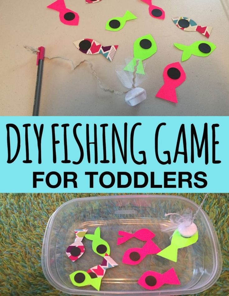 DIY magnetic fishing game for toddlers, activities for 18-24 month olds, activities for 1.5 year old, activities for toddlers, activities for 18 month old, activities for 19 month old, activities for 20 month old, activities for 21 month old, activities for 22 month old, activities for 23 month old, activities for 24 month old, activities for two year old, toddler games, toddler crafts