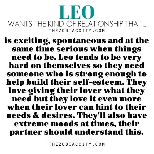 dating a leo horoscope