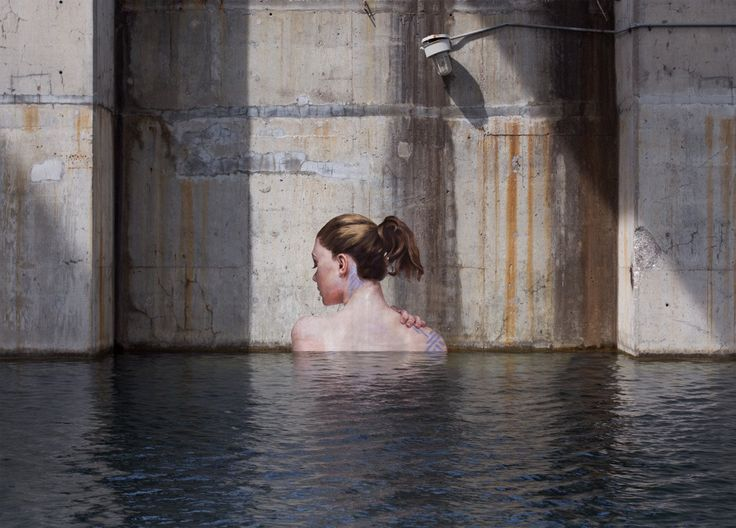 hyper-realistic paintings by Sean Yoro