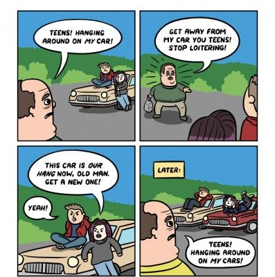funny-cartoons-for-teenagers- | Funny | Pinterest ...
