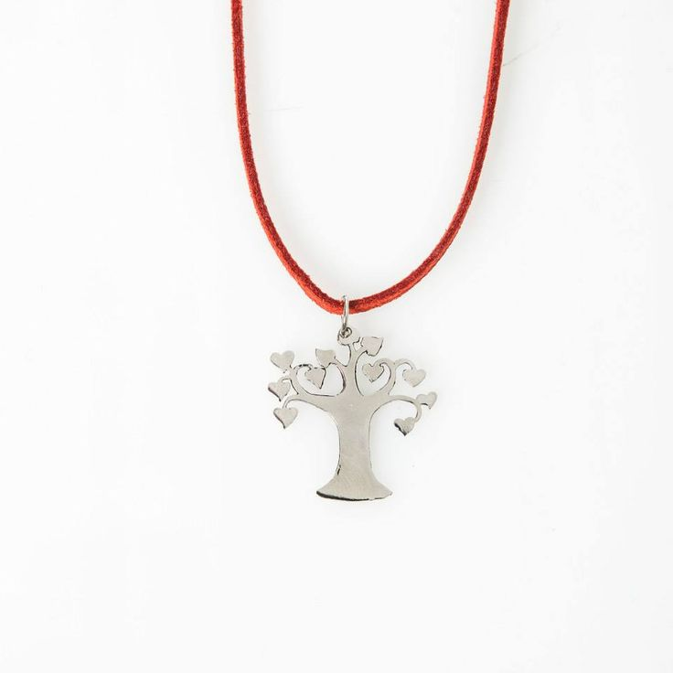 Lasercut jewellery from www.tintown.co.za - Lovetree Pendant