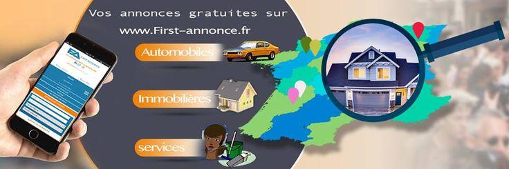 First-annonce.fr, la petite annonce gratuite près de chez vous #Enchères_Annonces_Occasions