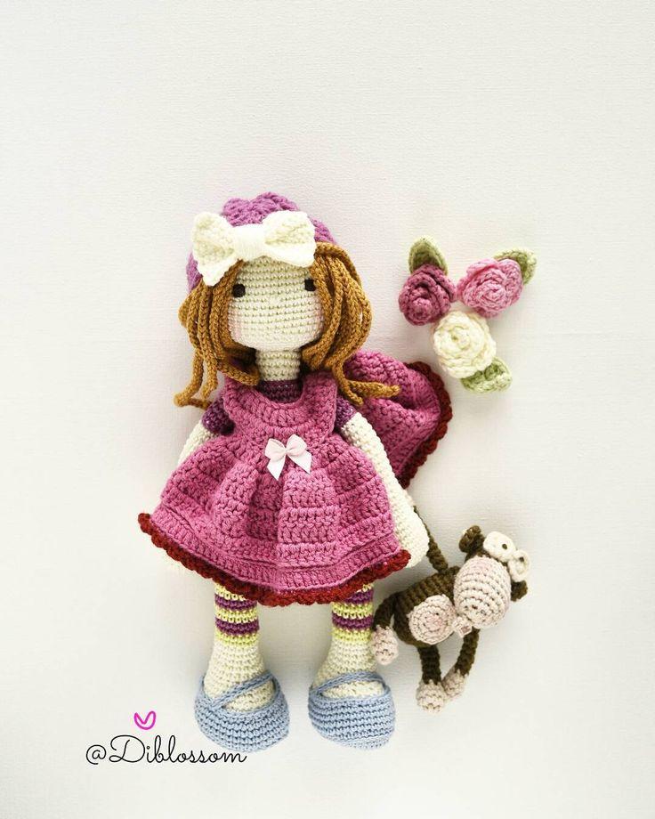 Happy Thursday :)   amigurumi dolls   Crochet dolls ...