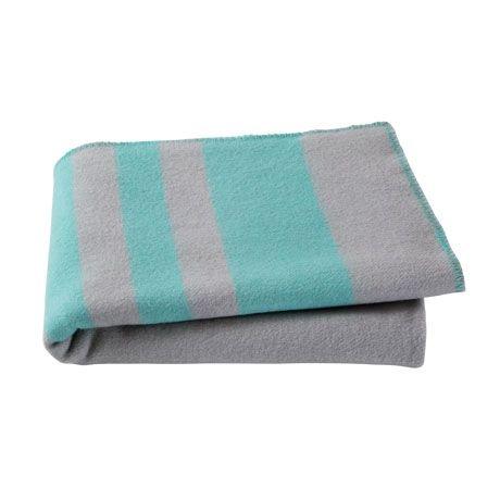Sleepy Throw 130x170cm For Real Living Green Stripe #reallivingxfreedom