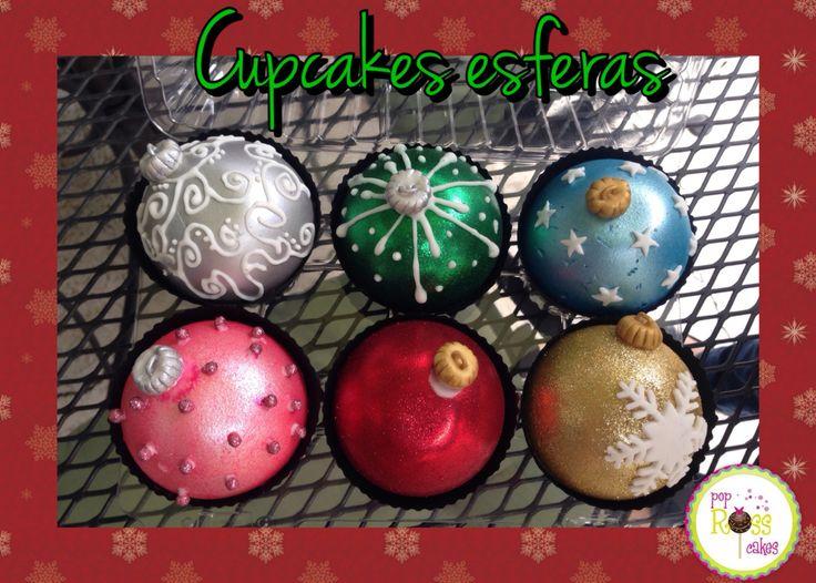 Cupcakes esferas!!!