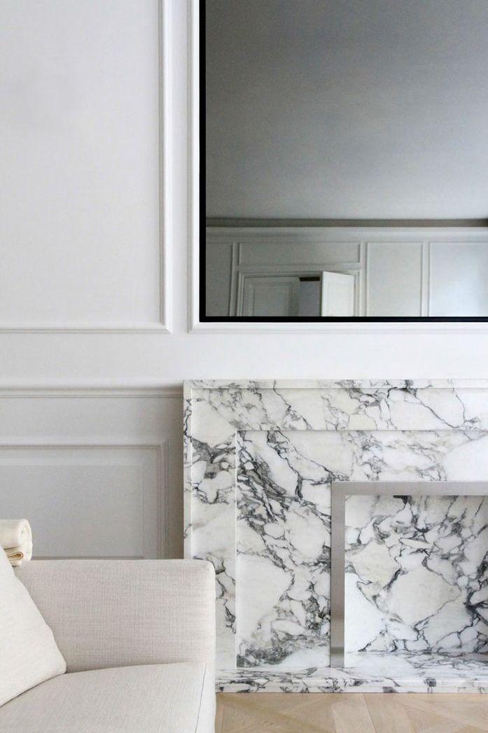 #openhaard #fireplace #marble #marmer #modern www.leemconcepts.nl