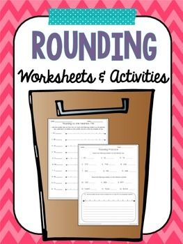 1000+ ideas about Rounding Worksheets on Pinterest | Rounding ...