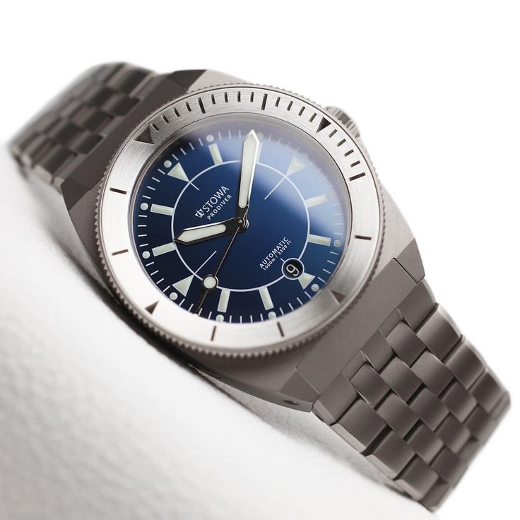 """Gefällt 289 Mal, 9 Kommentare - STOWA (@stowawatches) auf Instagram: """"STOWA Prodiver Blue Limited with metal bracelet and solid silver bezel inlay. Limited Edition.…"""""""