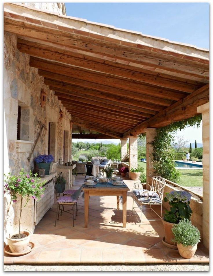 Veranda outdoor deco pinterest verandas and portugal for Deco veranda