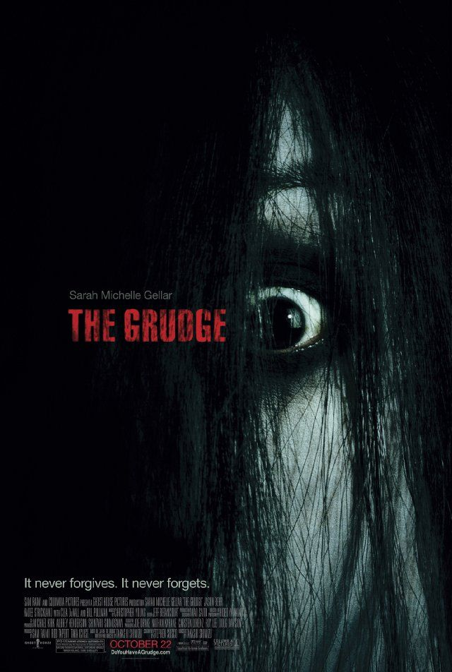 The Grudge - a horror poster example. Check out Filmsourcing tutorial on how to create a horror movie poster in five steps: http://www.filmsourcing.com/blog/2013/creating-a-horror-poster-tutorial/