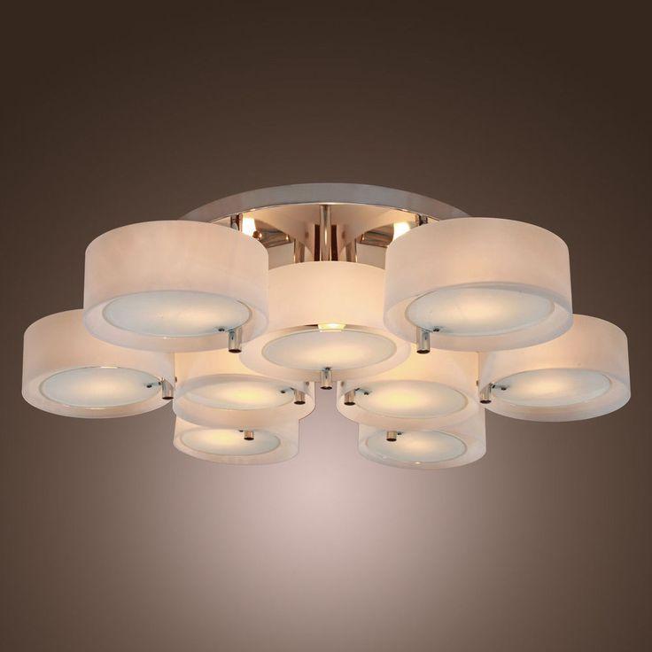 flush mount ceiling lights modern. promo modern ceiling light acrylic chandelier flush mount chrome finish # lights