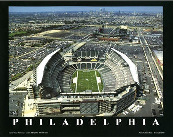 Philadelphia Eagles stadium in PA