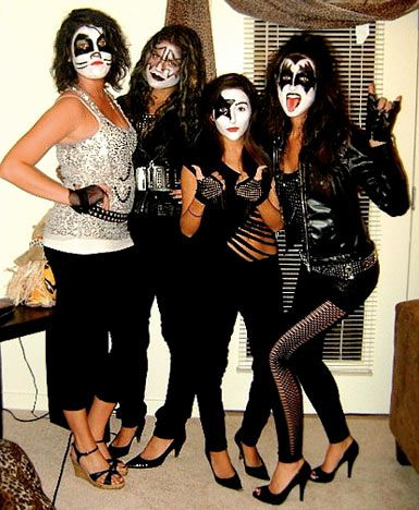 kiss halloween costumes - Google Search