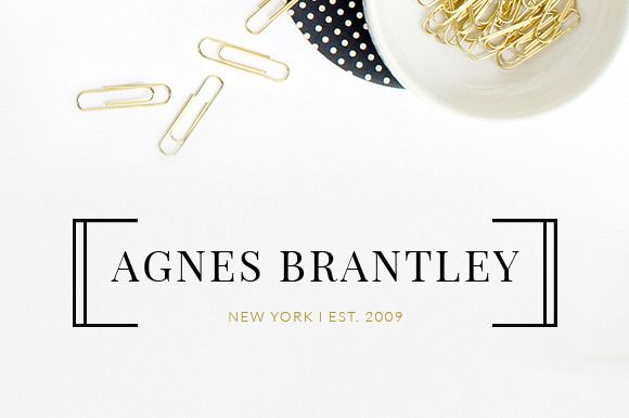 Check out Logo Suite : Agnes by Bluchic on Creative Market