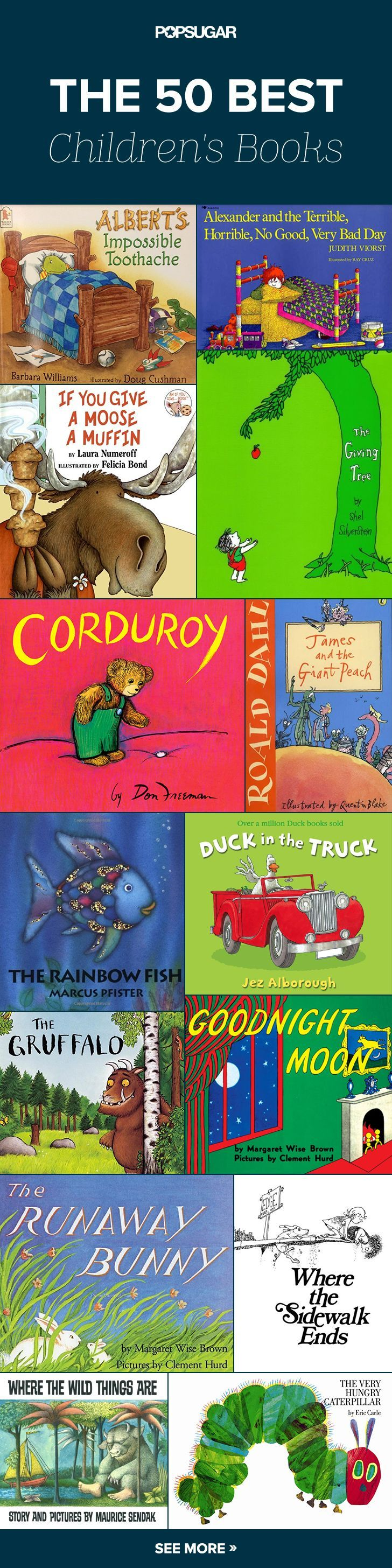 Read All About It! 50 All-Time Favorite Childrens Books