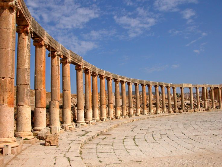 Oval Plaza (jerash Forum)