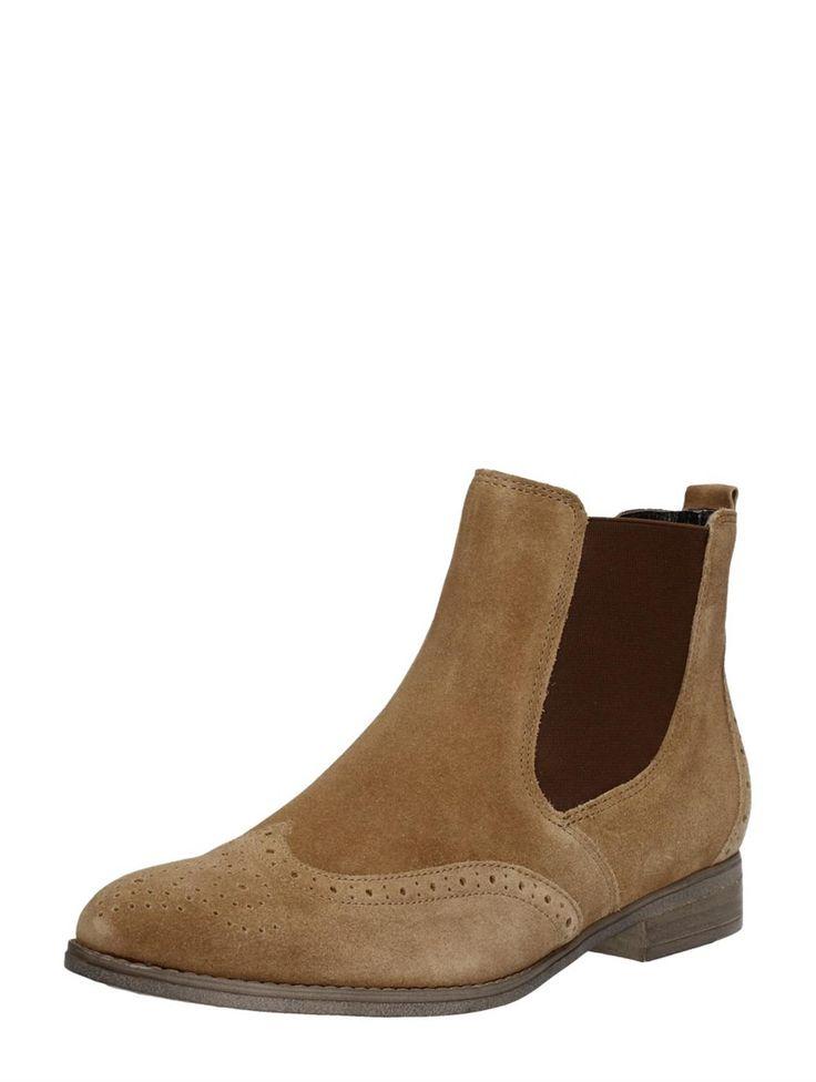 Gabor suede Chelsea Boots - cognac