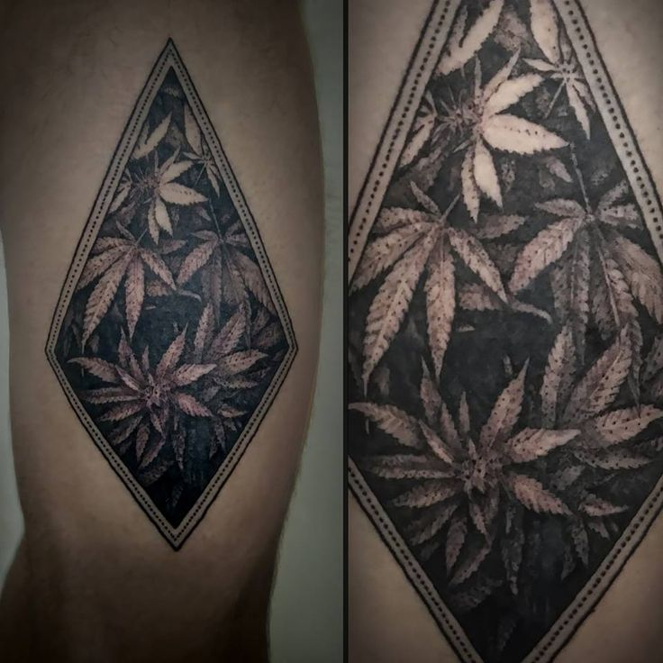 16 Stoned Weed Tattoos Tattoodo Com Tatts Pinterest