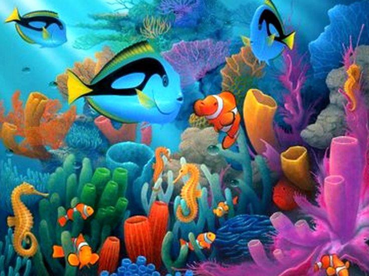 Free Under The Deep Blue Sea Wallpaper Download Free Screensavers