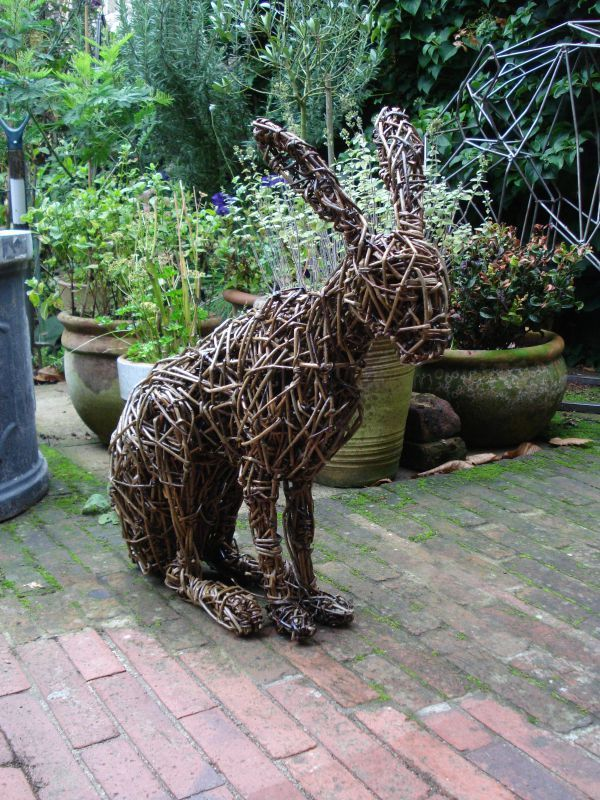 (Woven Outdoor Wild Life Animal Statues)u0027 By