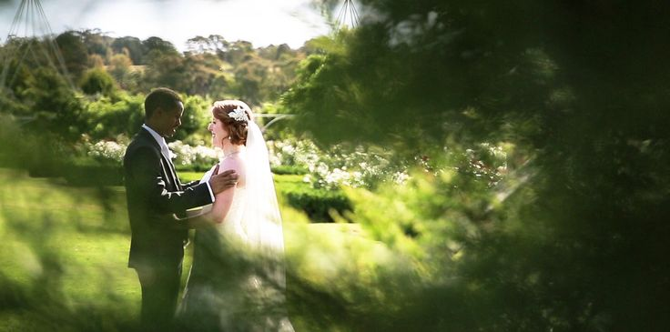 The adorable Brianna & Ash at Morning Star Estate- gorgeous wedding. http://www.burgessvideo.com.au/