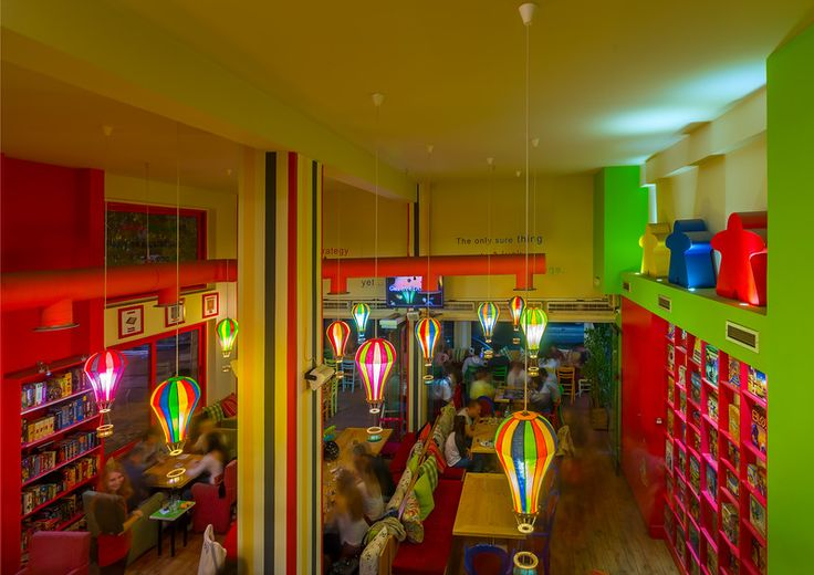 PLAYCE, Games Cafe, Athens, Greece