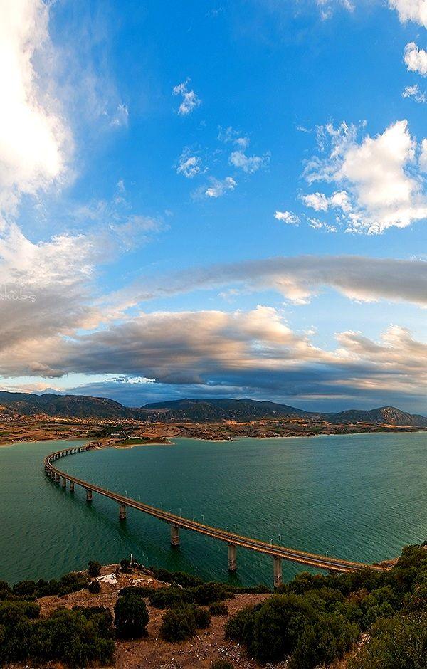 Bridge of Polifitos lake, Kozani, Greece | Flickr - Photo by Nick-K (Nikos Koutoulas)