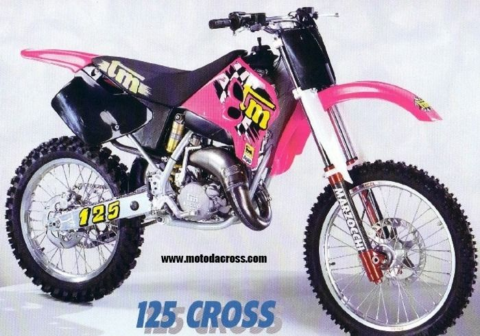 tm mx 125 dal 1996 classic motocross pinterest. Black Bedroom Furniture Sets. Home Design Ideas