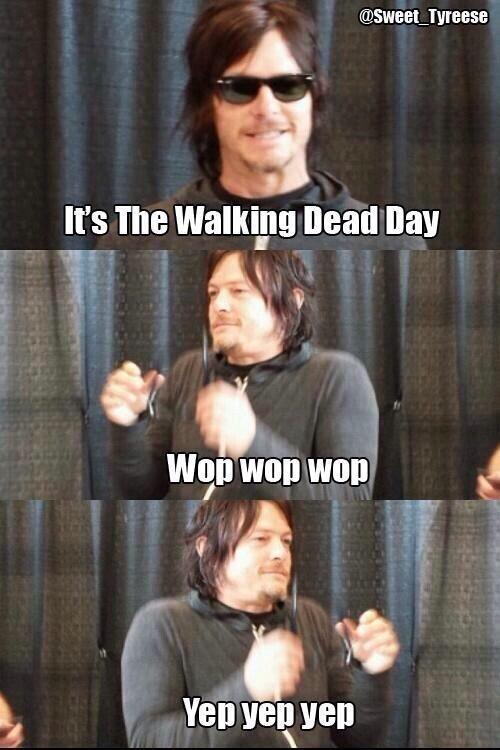 Walking Dead Day!