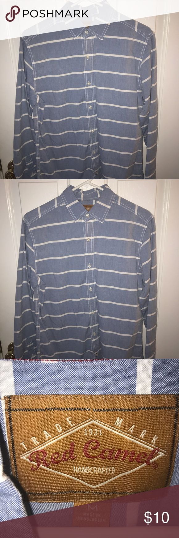 Red Camel men's casual shirt. Only worn a few times. Excellent condition. Red Camel Shirts Casual Button Down Shirts