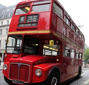 The Routemaster became one of London's most famous symbols and although they were stopped in 2001-2004 two routes were brought back, one of which, the number 9 (the perfect tour bus) goes from Kensington High Street, passed the Royal Albert Hall, Knightsbridge Station (Harrods), Hyde Park Corner,  Green Park Station and Trafalgar Square.